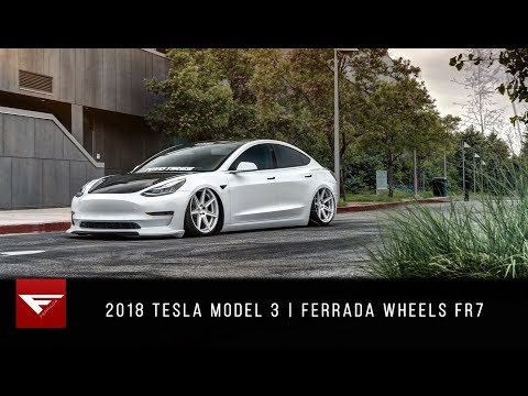 Stanced Tesla Model 3 is the opposite of a Nürburgring lap record