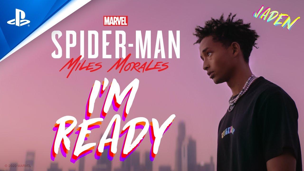 Jaden - I'm Ready - 公式ミュージックビデオ (Marvels Spider-Man: Miles Morales Game Soundtrack)