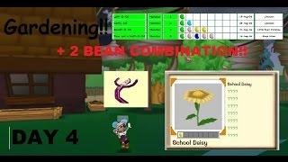 TTR   Gardening Day 4 + 2 BEAN COMBINATION!!   ToontownKale