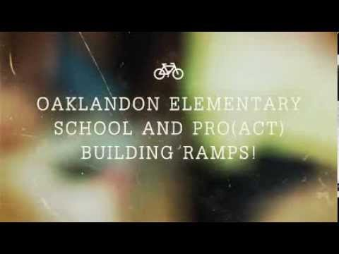 Oaklandon Elementary School and ProACT Building Ramps!