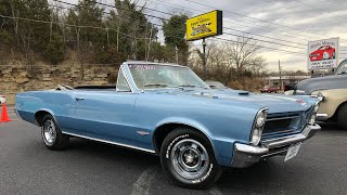Test Drive 1965 Pontiac LeMans $27,900 Maple Motors