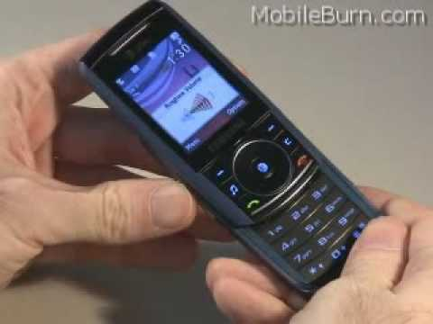 Samsung SGH-A737 for AT&T Overview