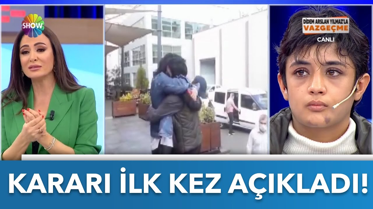 Didem Arslan Yılmaz, Dilek Albayrak ile ilgili kararı açıkladı!   Didem Arslan Yılmaz'la Vazgeçme