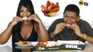 BLAZIN BUFFALO WILD WINGS CHALLENGE!!!!! Video