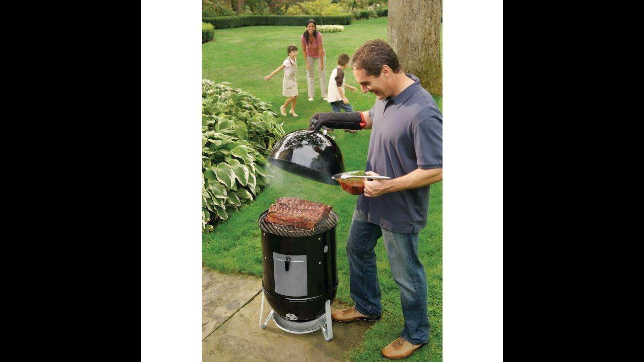 Review  Weber 721001 Smokey Mountain Cooker 1812Inch