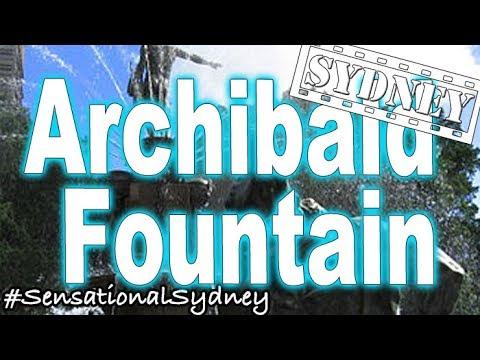 Sydney's Must See Archibald Fountain