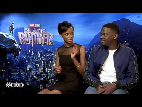 Black Panther   Letitia Wright and Daniel Kaluuya   MOBO Exclusive Interview
