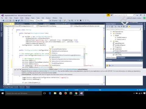 How to create Custom Login Registration Logout in Asp.Net MVC Core 1.0 (Code First) using VS 2015