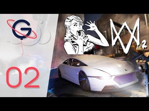 WATCH DOGS 2 - DLC HUMAN CONDITIONS FR #2 : La Voiture du Futur !