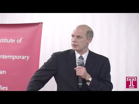 Public Lecture Video (2.21.2018) Michael Cucek: Update on Japanese Politics
