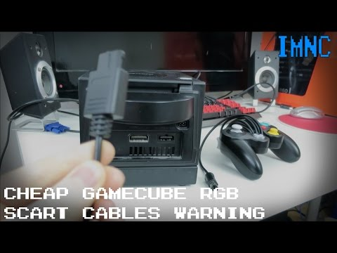 Cheap PAL GameCube RGB SCART Cables - Avoid! | IMNC