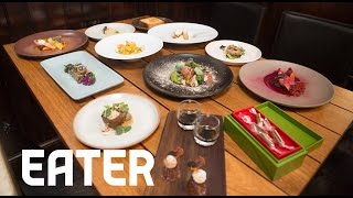 Watch a Meal at SPQR Fly By in 60 Seconds - 60 Second Tasting Menu