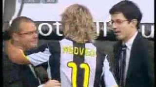 Pavel Nedved's Last Match for Juve