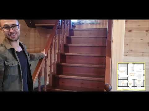 Обзор дома из двойного бруса  Стерлитамак