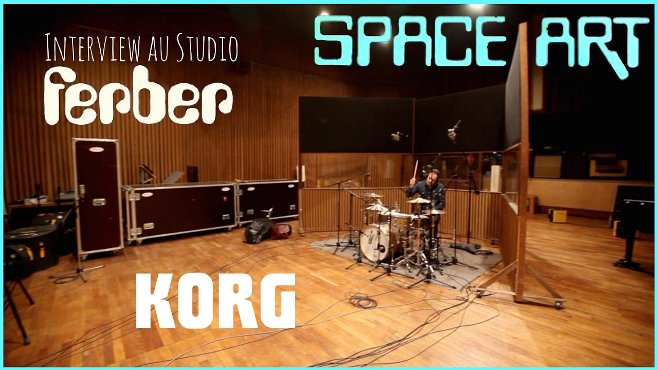 korg interview du groupe space art au studio ferber vid o de la boite noire youtube. Black Bedroom Furniture Sets. Home Design Ideas