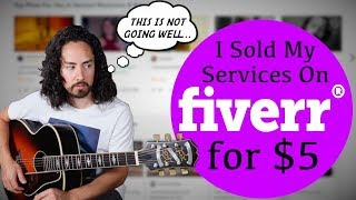 I Sold My Guitar Services on Fiverr