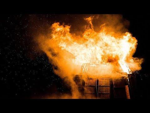 Харьков: при пожаре