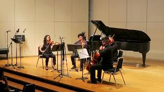 Kingdom Hearts - Dearly Beloved ~ Simple and Clean for piano and string quartet  (LIVE)