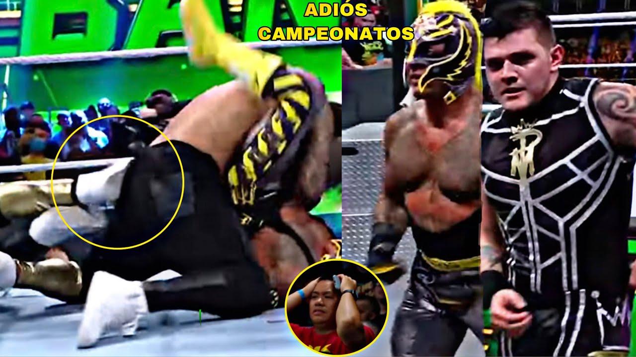 La Verdad por la que Rey Mysterio y su Hijo Perdieron los Títulos en Parejas de Smackdown en Money