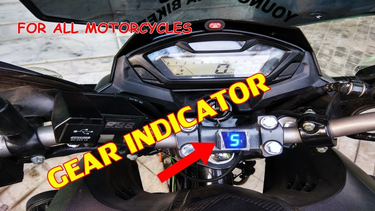 Gearindicator Universal Gear Indicator For All Motorcycles