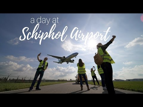 A day at Schiphol Airport #KLMTop10
