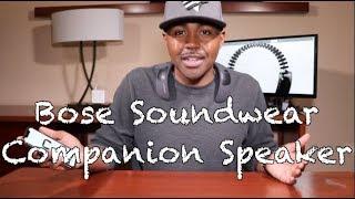 Bose SoundWear Companion Speaker | Hands free. Ears free.