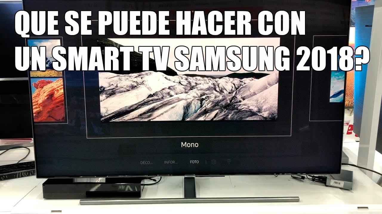 64b52c9c68320 Que se puede hacer con un Smart TV Samsung 2018  - YouTube