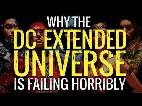 WHY THE DC EXTENDED UNIVERSE IS FAILING HORRIBLY - IFH TV