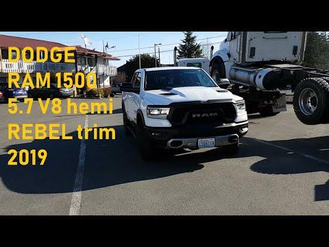 Новый Dodge RAM 1500 5.7 Hemi 2019 на русском