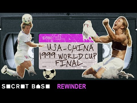 Brandi Chastain's World Cupwinning goal demands a deep rewind  1999 USA vs. China