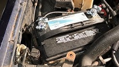 No Power At All When Turning the Key  - 2000 Jeep Cherokee XJ - Replace the Battery Cable Terminals
