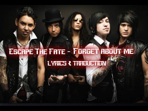 Escape the Fate - Forget About Me Lyrics | Musixmatch