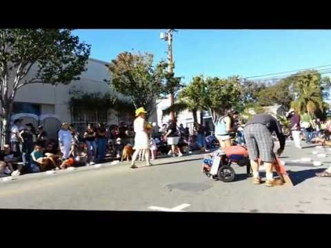 12th Annual Haute Dog Howl'oween Parade in Belmont Shore Long Beach, California
