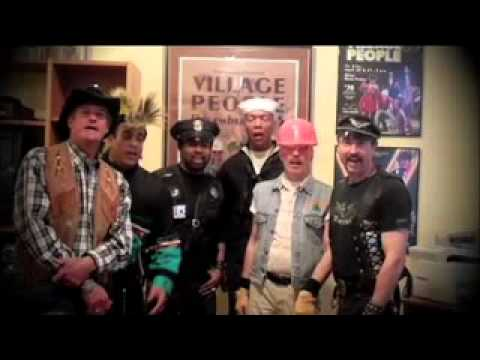 The Village People Sing Happy Birthday