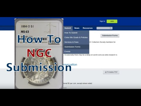 Download NGC Using Online Submission Service How To Submit Coins Step By Step Guide