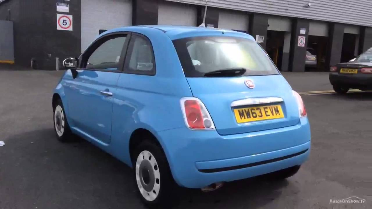 fiat 500 colour therapy blue 2014 youtube. Black Bedroom Furniture Sets. Home Design Ideas