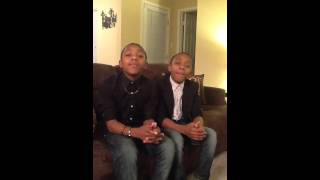 Darius and Demetrice sing don