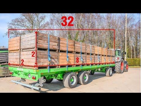 Wago bale trailers TR10000T20