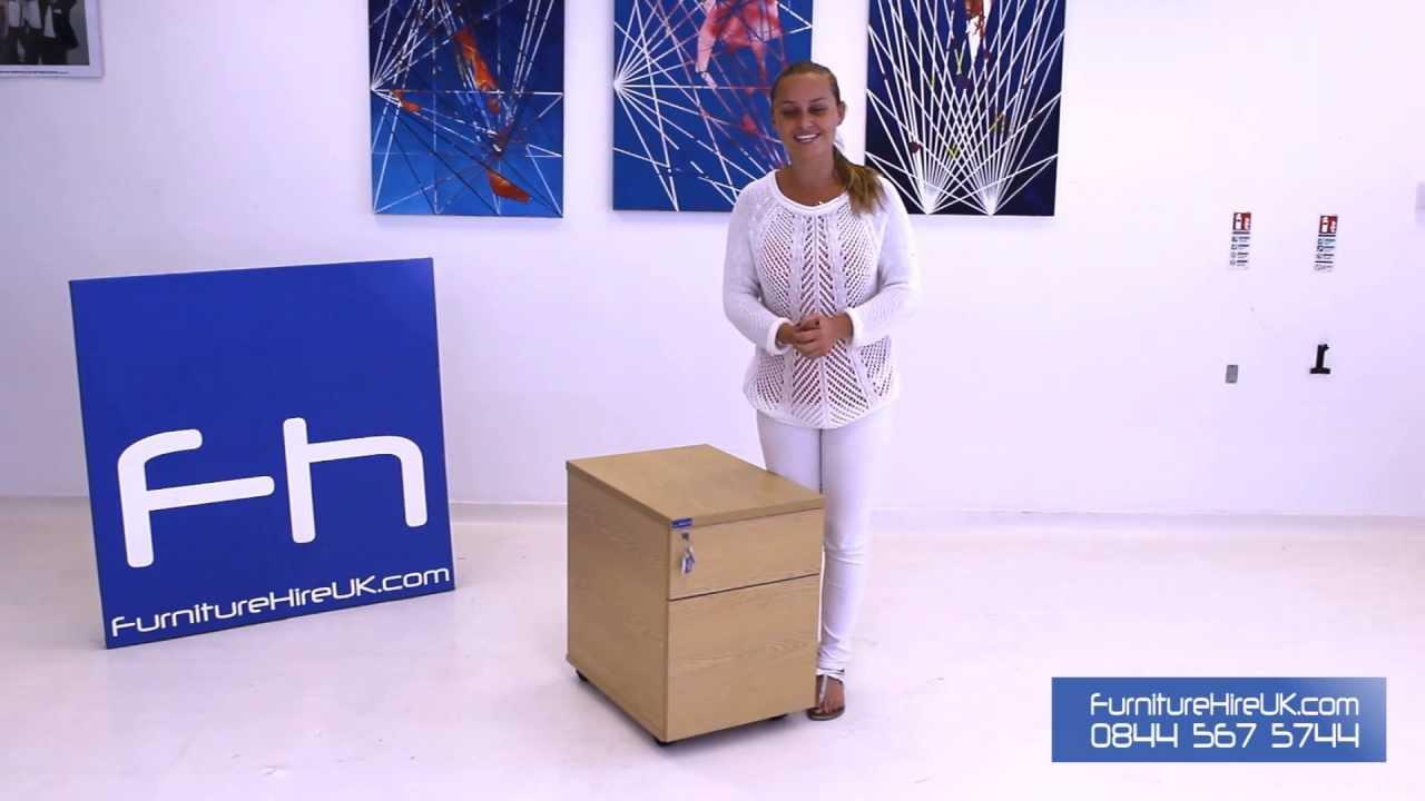 Mobile Pedestal Demo - Furniture Hire UK