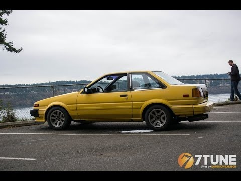 AE86 Coupe walk around