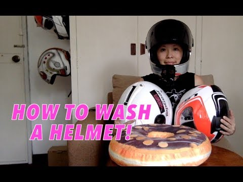 How to Wash Your Helmet : More Helmet Prizes : How to Clean Your Helmet