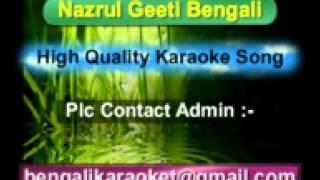 Khelicho E Biswaloye Karaoke {Nazrul Geeti} Anup Jolota