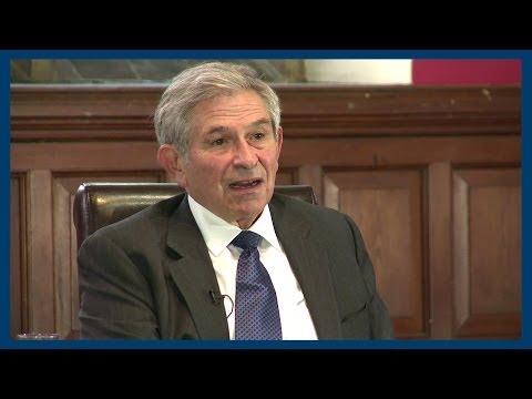 The Iraq War   Paul Wolfowitz   Oxford Union