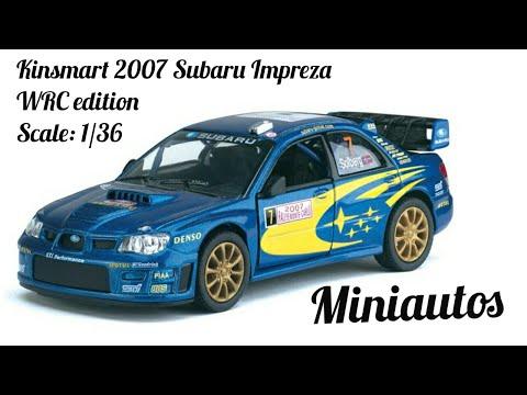 Kinsmart Subaru Impreza WRC Edition Scale 1:36