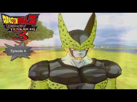 DragonBall Z Budokai Tenkaichi 3 - Mode Histoire #4 : Cell [1/2] [100%]