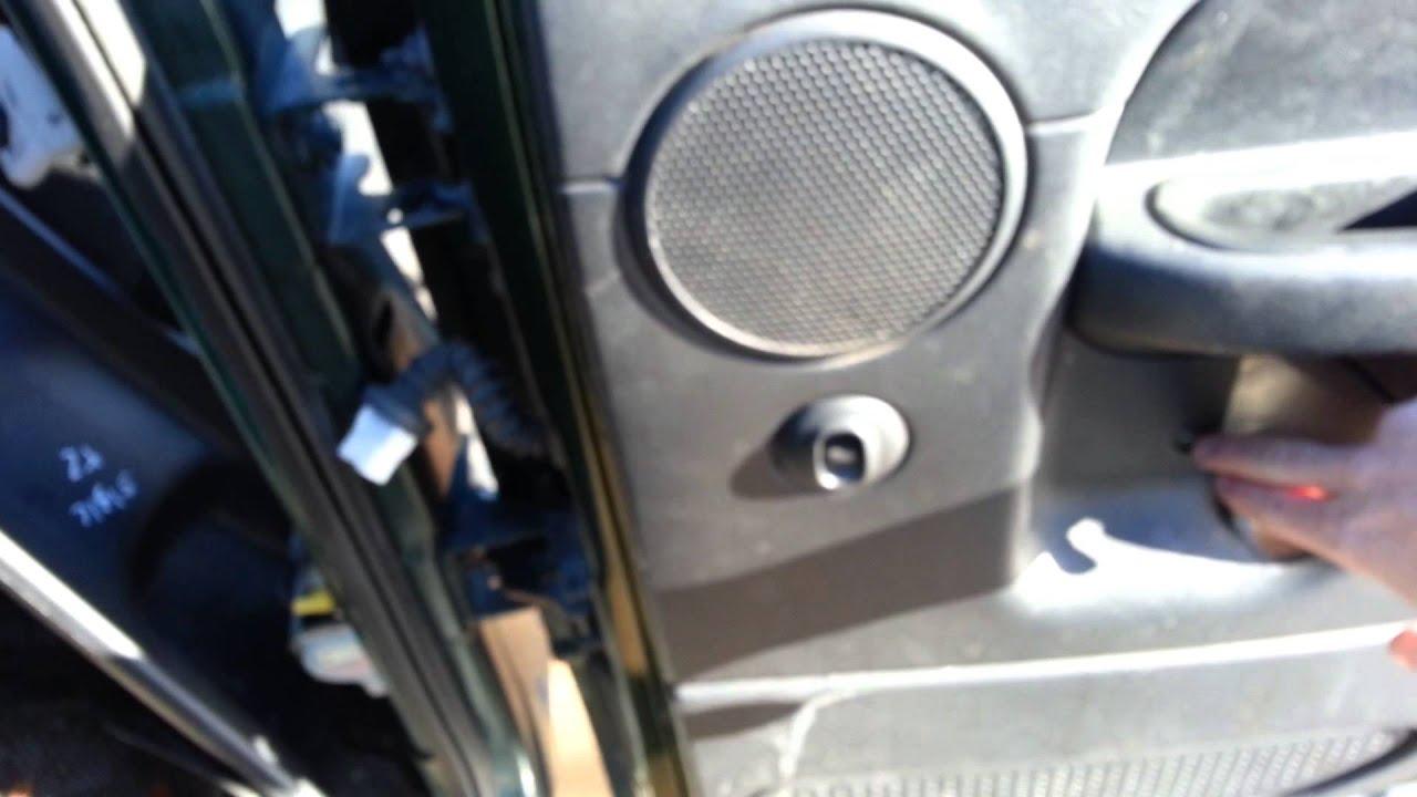 02 Dodge Ram 1500 Quad Cab Broken Rear Power Locks Speaker Wiring Harness For Windows Window Motor