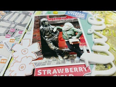 """Mega tag layout """"Adventure"""" y mini crónica de Liverpool en tienda de bellas artes"""