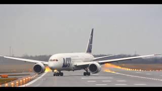 Lotnisko Chopina - lądowania w osi pasa RWY33