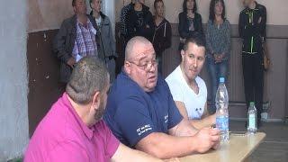 ВИДЕО: Най-силният мъж на Америка посети училището си в родния град Гоце Делчев