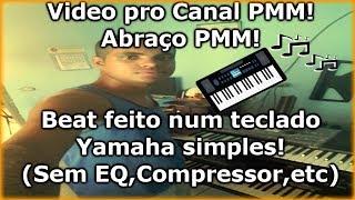 Criando beat Hip Hop no teclado - Video pro PMM